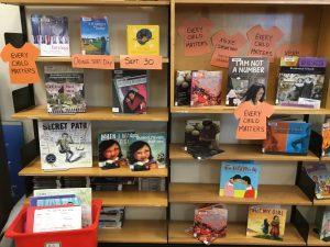 Orange Shirt Day library display