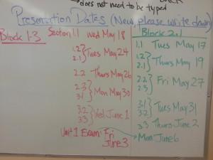 sc10 pres schedule