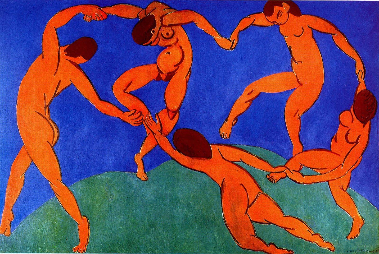 Image source www.studyblue.com Artist H. Matisse La Danse (1910)