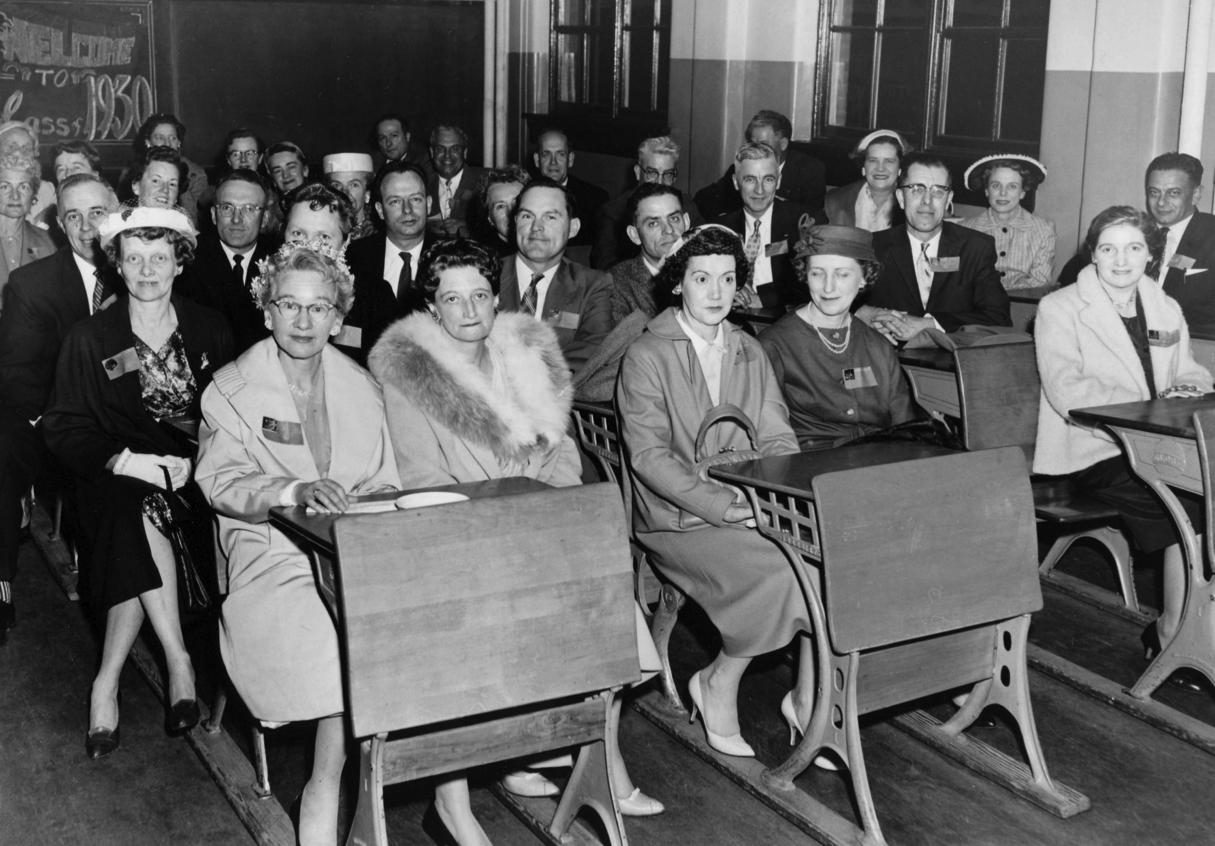 50th School Anniversary Celebration (1959.) Class of 1930