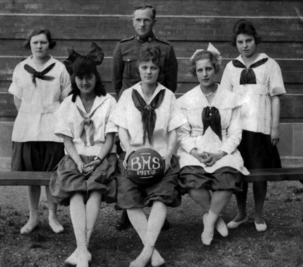 Girls Basketball Team (1918)