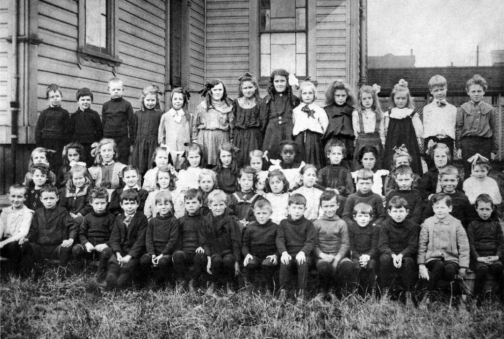 West School, 1900.